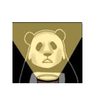 動く!やる気のないパンダ(夏)(個別スタンプ:20)