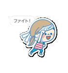 動く!かわいい主婦の1日【吹き出し・夏】(個別スタンプ:12)