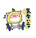 柚子ねこ3~ほんわかスタンプ~(個別スタンプ:17)