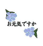 花かたらい 丁寧・敬語の挨拶(個別スタンプ:1)