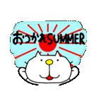みちのくねこ 春夏秋冬「夏」(個別スタンプ:12)