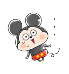 ゆる〜り♪ミッキー&フレンズ(個別スタンプ:35)