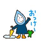 雨の日の雨ずきんちゃん(個別スタンプ:16)