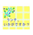"""""""くみこ""""さんにお薦め、お花のスタンプ。(個別スタンプ:08)"""
