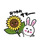 うさ子 with くまごろう 2~夏~(個別スタンプ:39)