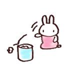 完全脱力うさちゃん(雑着色)(個別スタンプ:24)