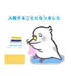 Snowちゃん病院へ行く 2(個別スタンプ:04)