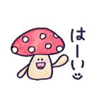 色えんぴつ de らくがき :)(個別スタンプ:01)