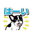 わんこ日和 フレンチブルドッグの仔犬(個別スタンプ:06)