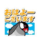 文鳥横丁(個別スタンプ:02)