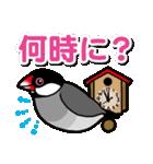 文鳥横丁(個別スタンプ:29)