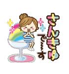 【夏▶真夏】毎日つかえる言葉♥(個別スタンプ:10)