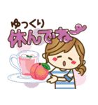 【夏▶真夏】毎日つかえる言葉♥(個別スタンプ:28)