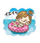 【夏▶真夏】毎日つかえる言葉♥(個別スタンプ:35)