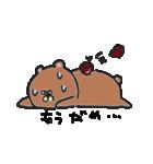 汗かきくまさん 夏編(個別スタンプ:06)