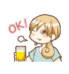 ワカコ酒(個別スタンプ:05)