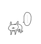 うさぎ帝国 〜きほん〜(個別スタンプ:05)