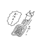 うさぎ帝国 〜きほん〜(個別スタンプ:25)