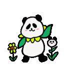 シュールで不思議な花パンダたち(個別スタンプ:40)
