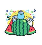 夏のインコちゃんズ【お誘い編】(個別スタンプ:33)