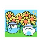 夏のインコちゃんズ【お誘い編】(個別スタンプ:34)