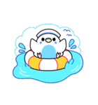 夏のインコちゃんズ【お誘い編】(個別スタンプ:35)