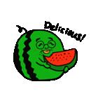 シュールで愉快な野菜果物たち(個別スタンプ:03)