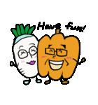シュールで愉快な野菜果物たち(個別スタンプ:06)