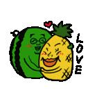 シュールで愉快な野菜果物たち(個別スタンプ:27)