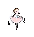 可愛く踊るバレリーナ2~アンドゥトロワ~(個別スタンプ:07)