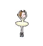 可愛く踊るバレリーナ2~アンドゥトロワ~(個別スタンプ:16)
