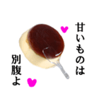 【実写】プリン(個別スタンプ:09)