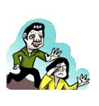 おハルとロドリゲス(個別スタンプ:07)