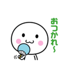 いつでも使える白いやつ【夏】(個別スタンプ:35)