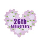 1~40周年記念日切手(個別スタンプ:26)