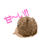 語るアイスクリーム01(個別スタンプ:39)