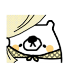 オトナ❤カワイイ~きほんセット~白くま編(個別スタンプ:04)