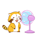 SUMMER NIGHT★ラスカル(個別スタンプ:03)