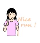 桐子さんのランニングライフ(個別スタンプ:07)