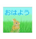 ウサギさんのスタンプ(個別スタンプ:01)