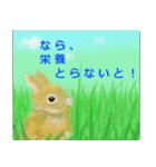 ウサギさんのスタンプ(個別スタンプ:14)