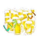 語るビール03(個別スタンプ:09)