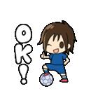 がんばる!サッカー少女(個別スタンプ:10)