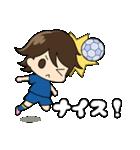 がんばる!サッカー少女(個別スタンプ:27)