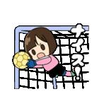 がんばる!サッカー少女(個別スタンプ:29)