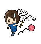 がんばる!サッカー少女(個別スタンプ:30)
