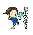 がんばる!サッカー少女(個別スタンプ:31)