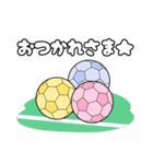 がんばる!サッカー少女(個別スタンプ:37)