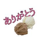 語るアイスクリーム03(個別スタンプ:01)