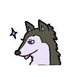 便利な犬たち!ハスキー、プードル、柴犬(個別スタンプ:5)